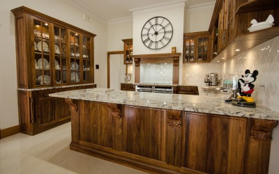 Traditional kitchen in beverly
