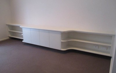 Curved Entertainment unit in West lakes